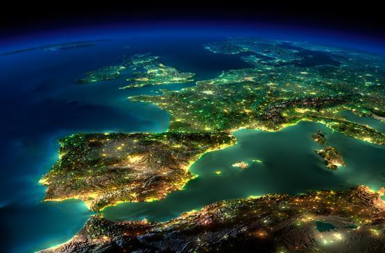 133120046 תמונת טפט כדור הארץ בלילה