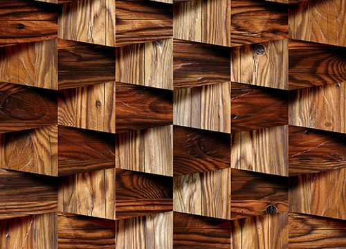 B-313424534 טפט תמונה קוביות עץ
